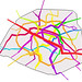 Metro lines in Paris by passenger volumes