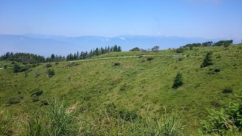 鉢伏山SLは照りつけがヒドかった記憶。全行程で2番目くらいにしんどかった