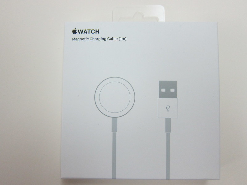 Apple Watch Magnetic Charging Cable (1m) - Box Front
