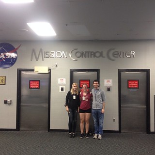 We saw all the Mission Control areas!