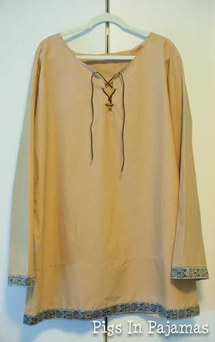 Medieval Men's Costume  shirt