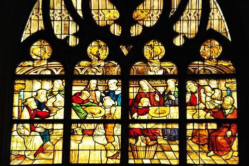 Soest Kirche Grünsandstein Sandstein grün St. Maria zur Wiese Wiesenkirche Westfälisches Abendmahl