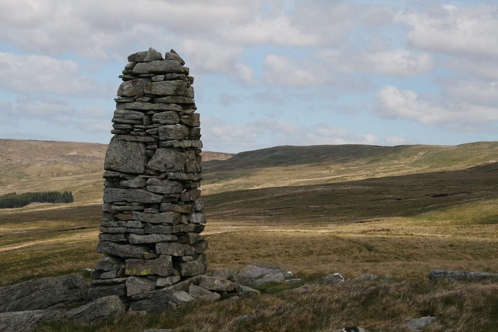Beacon on Great Shunner Fell