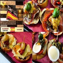 restaurant(0.0), hors d'oeuvre(1.0), meal(1.0), breakfast(1.0), vegetable(1.0), brunch(1.0), bruschetta(1.0), produce(1.0), food(1.0), dish(1.0), pincho(1.0), cuisine(1.0),