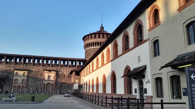 Piazza d'Armi im Castello Sforzesco