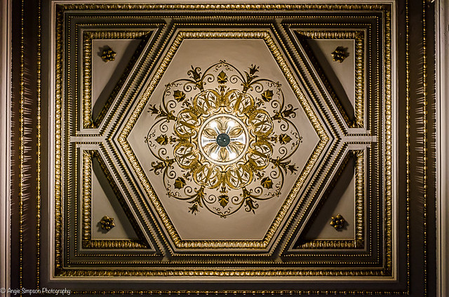 hexagon ceiling (1 of 1)
