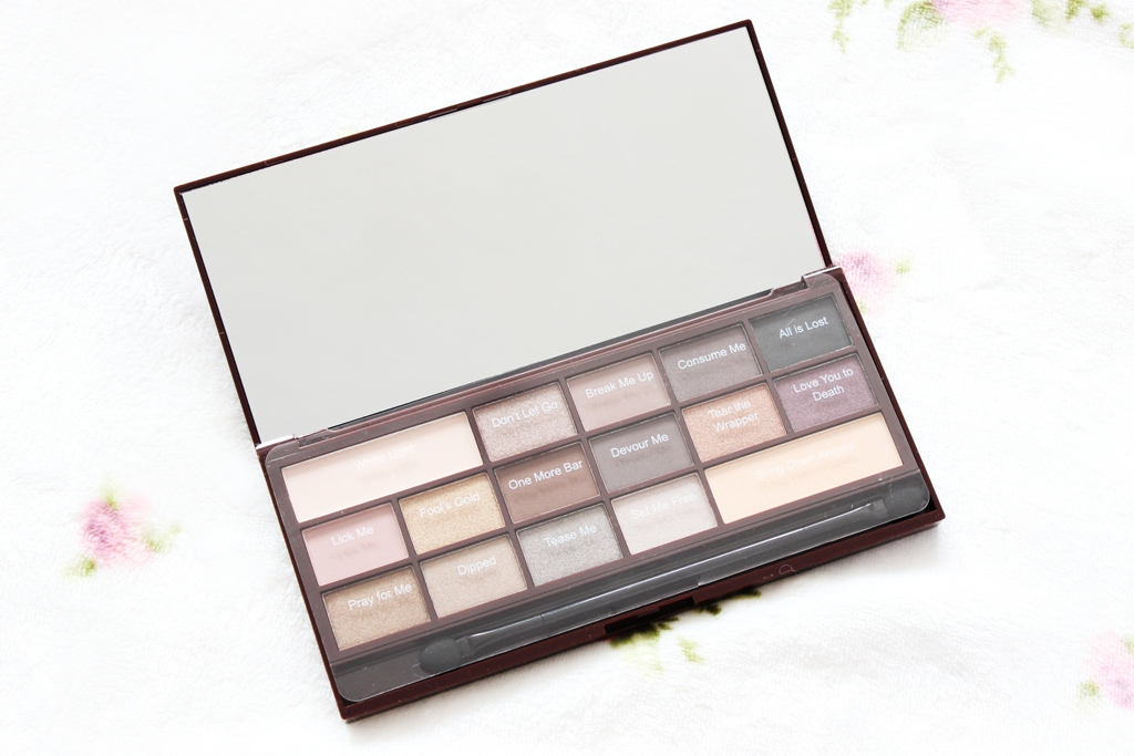 Makeup Revolution I Heart Makeup Death By Chocolate Palette (2)