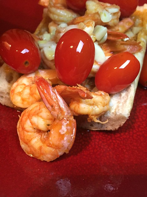 Smoked Paprika Shrimp Po'Boys