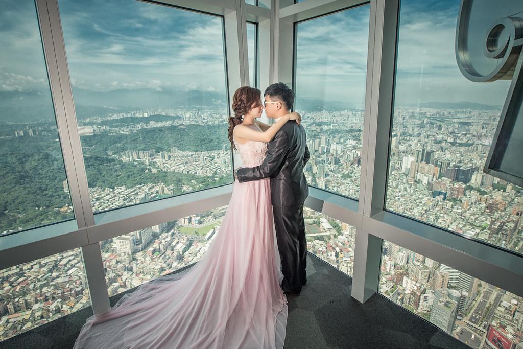 自助婚紗 101觀景台