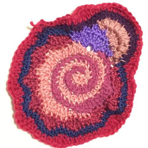 Work in Progress; Freeform Crochet
