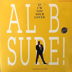AL B. SURE!:IF I'M NOT LOVER(JACKET A)