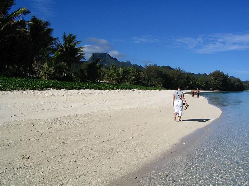 Cook islands around the globe