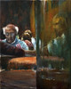 Card players in bar Los Bilbainos (Antonio), Nerja by chrisrobnson1