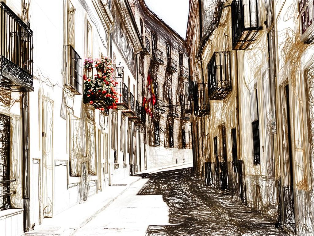 Una calle de Arévalo