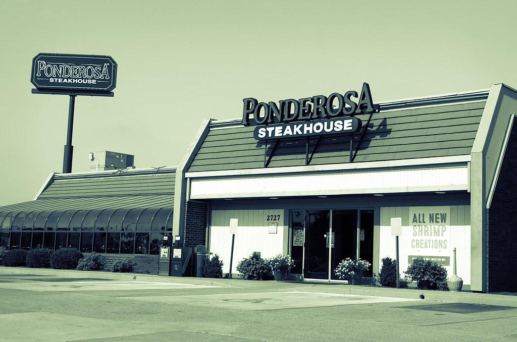 Ponderosa Steakhouse A Still Operating Ponderosa Steakh Flickr