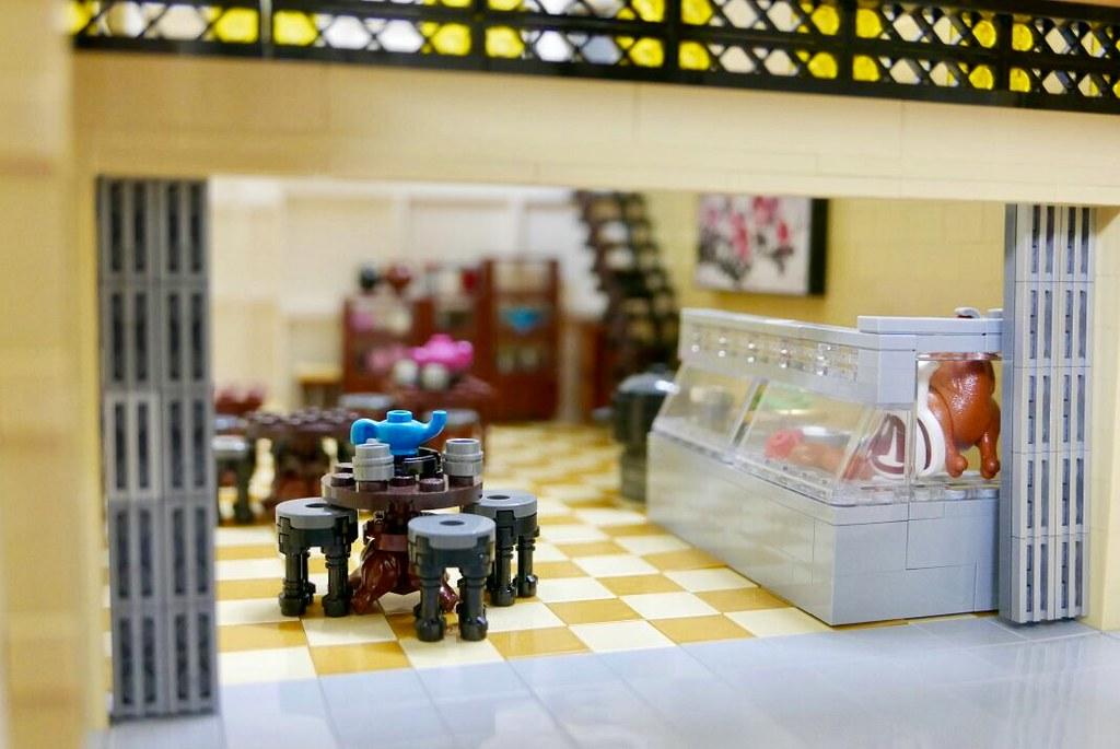 Malaysian style cafe.