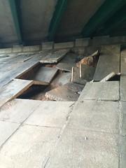 Underside of Beltway bridge over Greenbelt Road