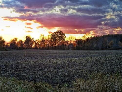 sunset dusk color