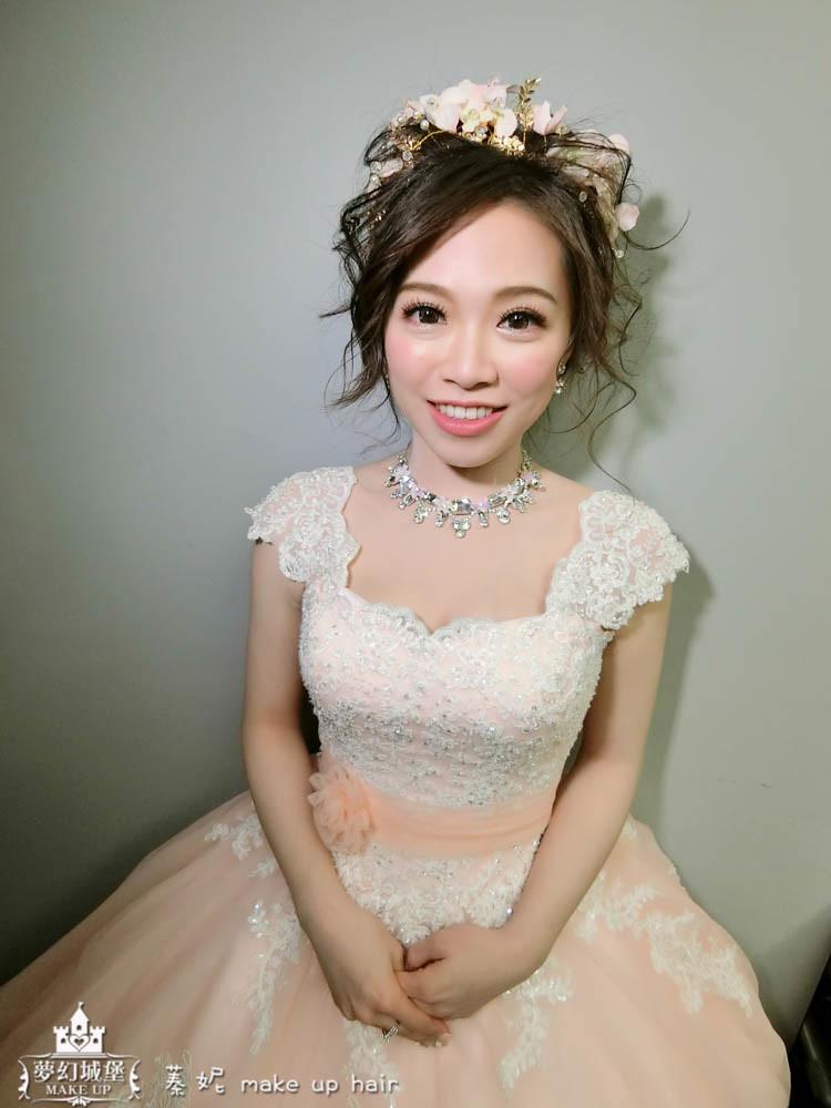 【新秘蓁妮】bride宜芳 歸寧造型 / 桃園南方莊園