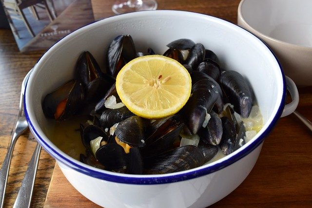 Moules at The Boatyard, Isle of Man