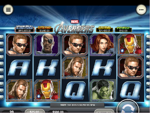 The Avengers Mobile slot game online review
