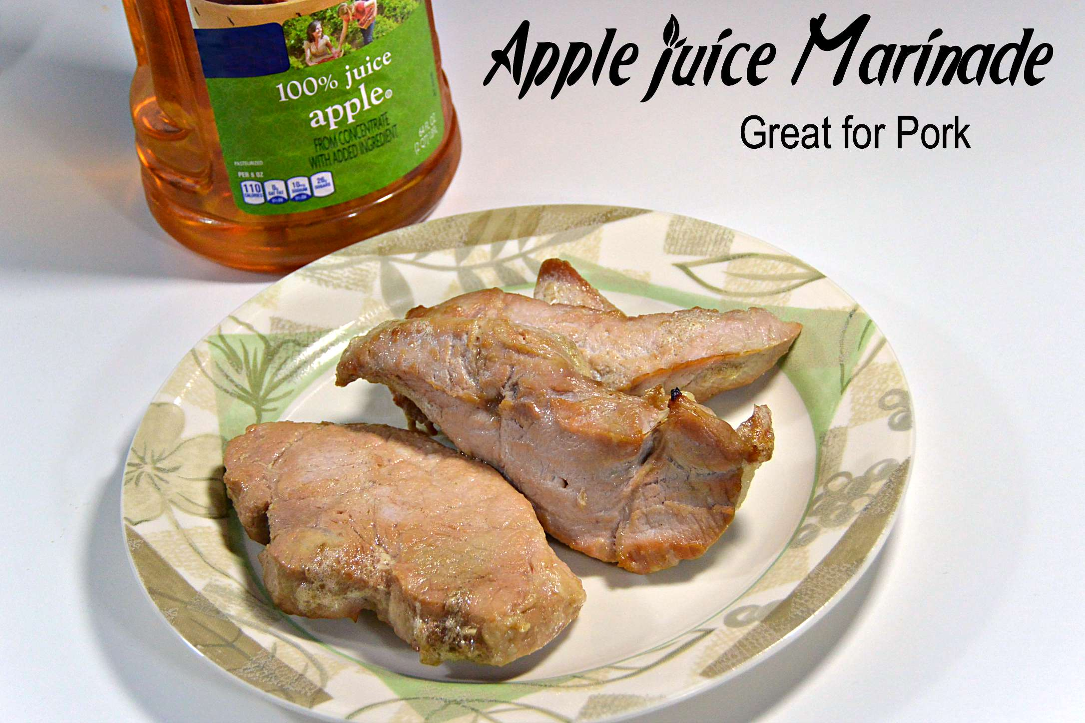 Apple Juice Marinade