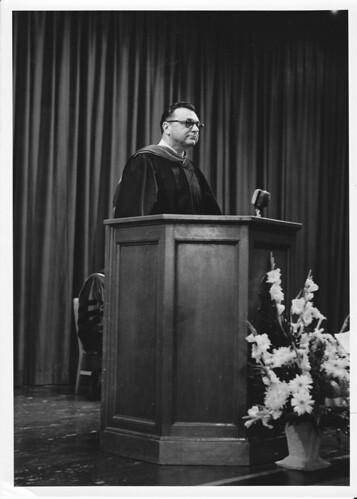 Dr Robert C Strubhar @ podium