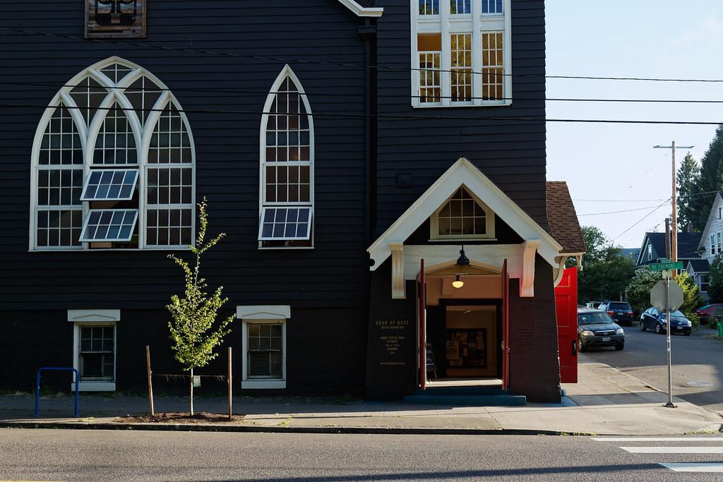 The Door of Hope, a church in the Irvington neighborhood of Portland
