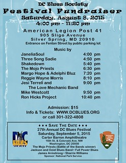DC Blues Festival  Fundraiser 2015