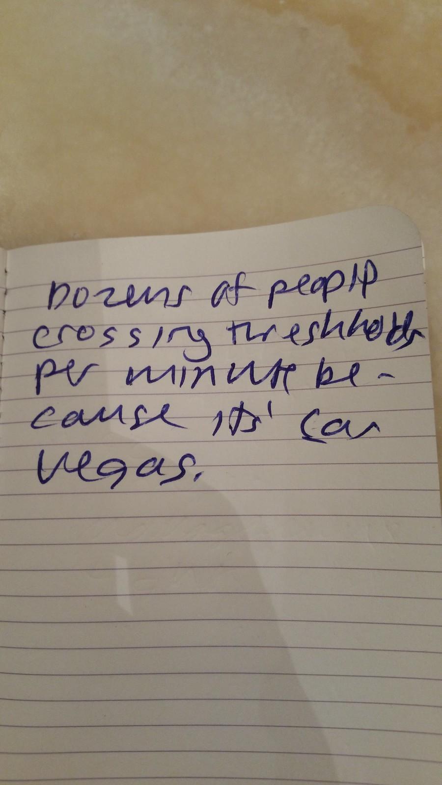 Vegas Poem