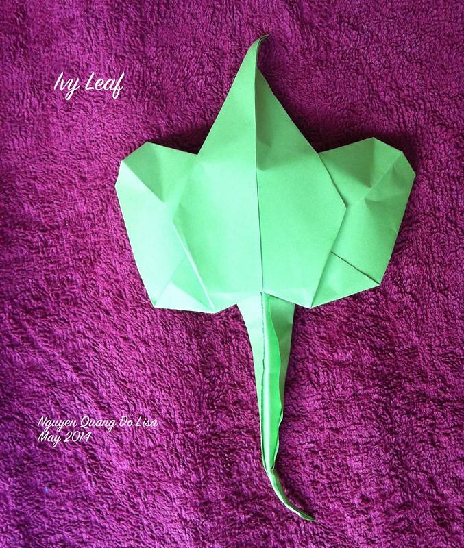 Origami Ivy Leaf