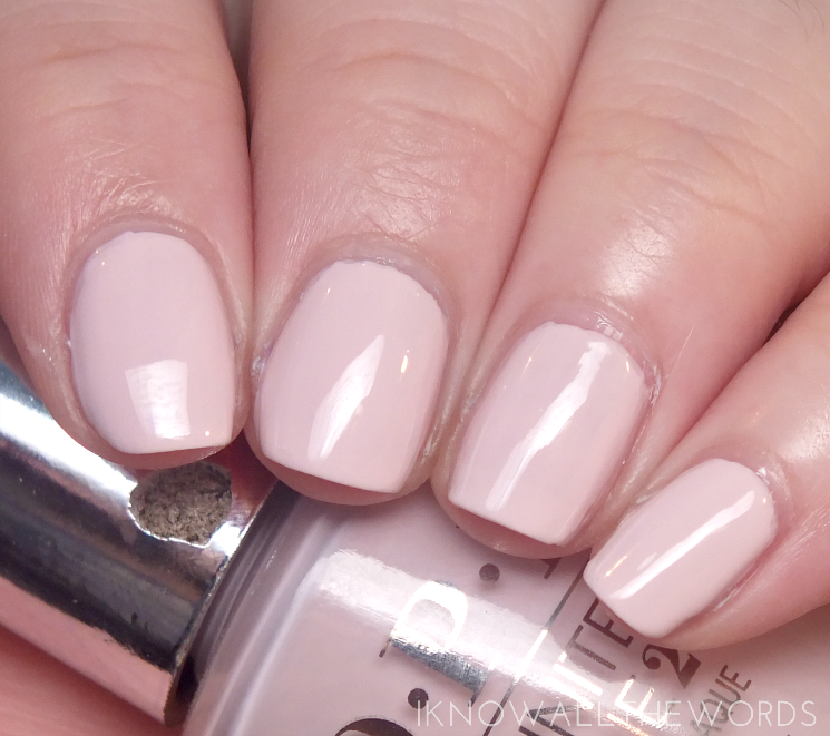 OPI infinite shine summer 2015 patience pays off