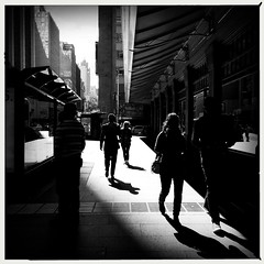 The anonymity of city life