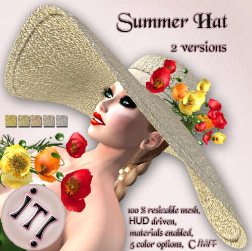 !IT! - Summer Hat Image