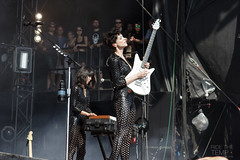 St. Vincent @ WayHome Festival Day 3 7/26/2015