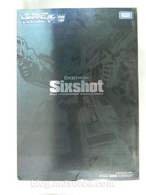 Transformers Sixshot G1 Reissue - Transformers Asia - caja