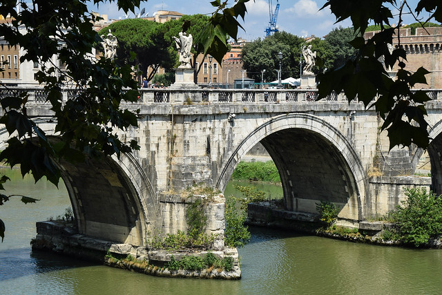 St. Angelo bridge, Rome