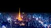 Tokyo Skyline at night 4K Wallpaper / Desktop Background by Loek Janssen