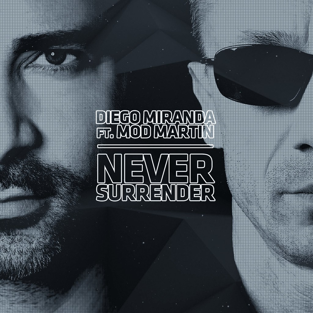 Diego Miranda - Never Surrender - capa