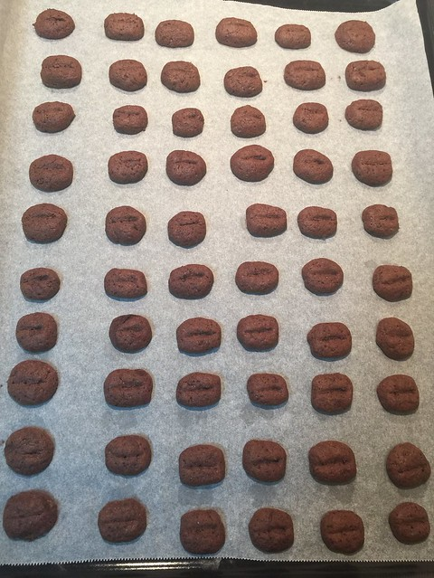 咖啡豆餅乾