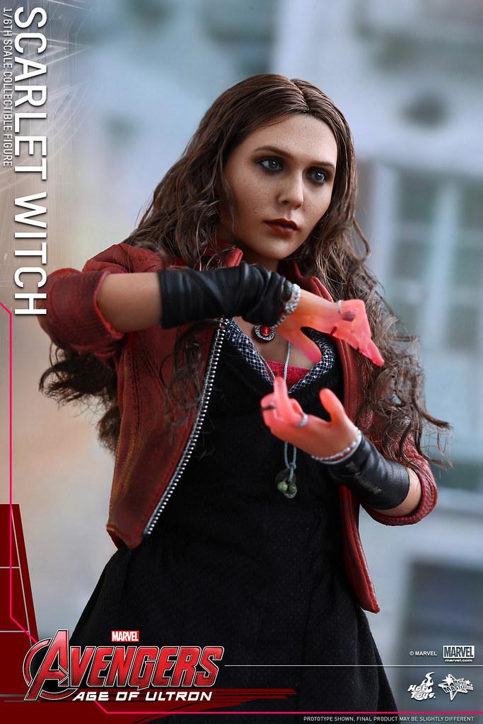 Hot Toys – MMS301 – 復仇者聯盟2:奧創紀元 1/6比例 緋紅女巫