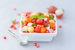 exotic fruits salad