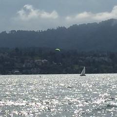 #kiteboarden auf dem Zürisee!