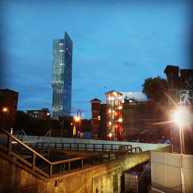 Beetham Tower, Manchester.