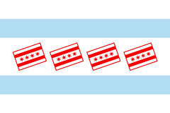 chicago flagception