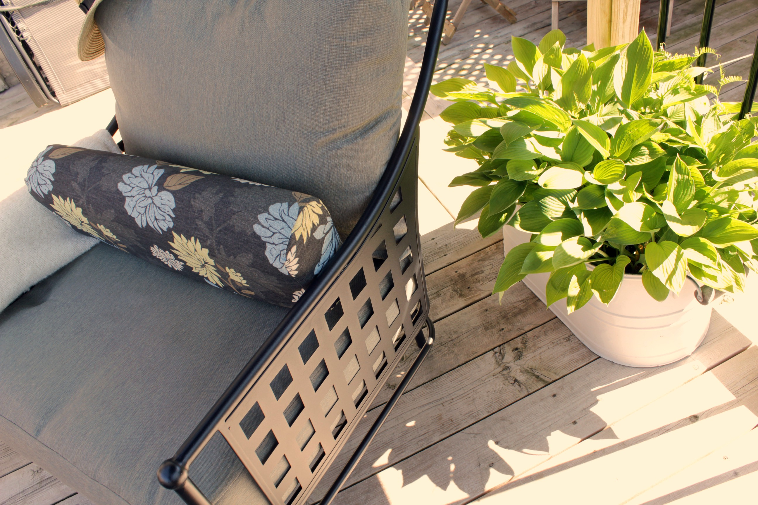 Hampton Bay Lynnfield patio set