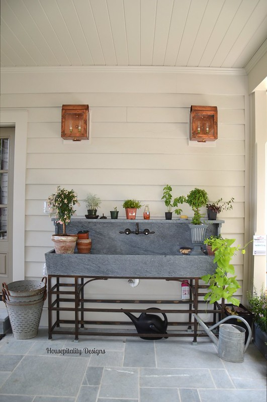Potting Bench-2015 Southern Living Idea House-Housepitality Designs