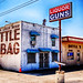 Texas Liquor Guns sign