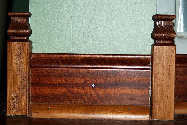 baseboard trim detail