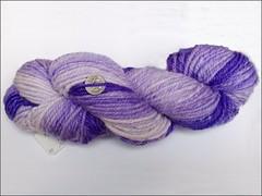 Gradient Violet handspun